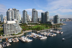 Ванкувер, Британский Колумбия Стоковые Изображения RF