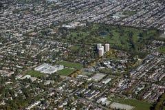 Ванкувер, поле для гольфа Langara стоковое изображение