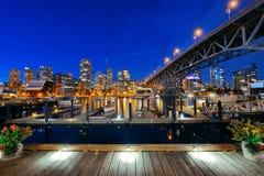 Ванкувер False Creek стоковые фотографии rf