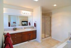 ванная комната большая Стоковые Изображения