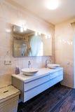 ванная комната большая Стоковая Фотография RF