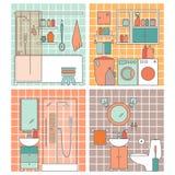 Ванная комната вектора Стоковая Фотография RF