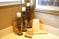 ванная комната вспомогательного оборудования Стоковые Изображения RF