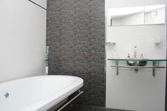 Ванная комната гостиницы Стоковые Фотографии RF