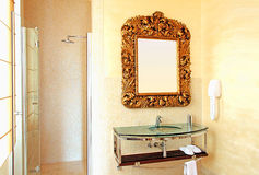 ванная комната деревенская Стоковые Фото