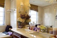 Ванная комната заколдовывать стоковая фотография rf