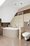Ванная комната конструированная для вашего комфорта Стоковые Изображения