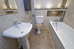 ванная комната первоклассная Стоковые Фотографии RF