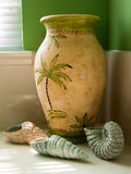 ванная комната произвела seashells Стоковые Фотографии RF