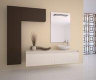 ванная комната самомоднейшая Стоковые Изображения