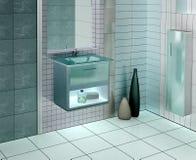 ванная комната самомоднейшая Стоковые Изображения RF