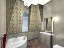 ванная комната самомоднейшая бесплатная иллюстрация