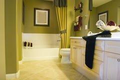 ванная комната самомоднейшая Стоковое Фото
