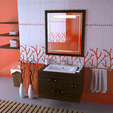 ванная комната славная стоковое фото