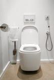 Ванная комната с туалетом Стоковое фото RF