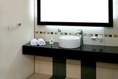 ванная комната тазика Стоковое фото RF