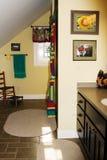 ванная комната цветастая Стоковое фото RF