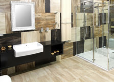 ванная комната шикарная Стоковое фото RF