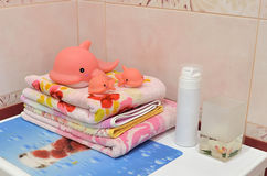 Ванная комната элегантности Стоковые Фотографии RF