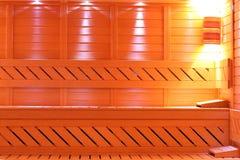 ванная комната sauna Стоковая Фотография