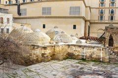 Ванна бейя Gasim в старом городе Icheri Sheher _ пустословия стоковые изображения rf