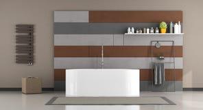 ванна ванной комнаты самомоднейшая Стоковые Изображения RF