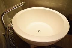 ванна в комнате ванны Стоковое фото RF