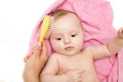 ванна младенца немногая Стоковая Фотография