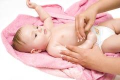ванна младенца немногая Стоковые Фотографии RF