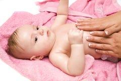 ванна младенца немногая Стоковое фото RF