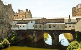 Ванна моста Pulteney Стоковая Фотография