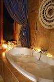 ванна ослабляя Стоковое фото RF