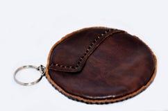 Ванна портмона или бумажника и монетки тайская Стоковая Фотография