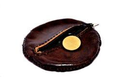 Ванна портмона или бумажника и монетки тайская Стоковые Фотографии RF