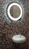ванна украшает интерьер Стоковое фото RF