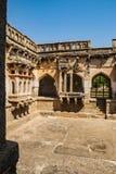 Ванна ферзей, старые руины в Hampi, Индии стоковое фото rf