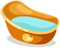 ванна s младенца бесплатная иллюстрация