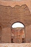 Ванны восходящего потока теплого воздуха ` s Caracalla Стоковая Фотография RF