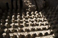 ванны римские Стоковое фото RF