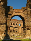 Ванны Caracalla 05 Стоковые Изображения RF