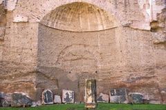 Ванны Caracalla Стоковая Фотография