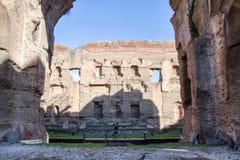Ванны Caracalla Стоковое Изображение RF