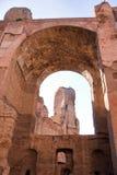 Ванны Caracalla Стоковые Фотографии RF