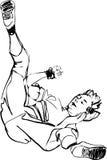 ванта танцы танцульки пролома бесплатная иллюстрация