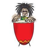 ванта ямайская иллюстрация штока
