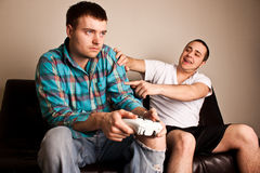 ванты игр теряют видео Стоковое Изображение