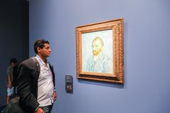 Ван Гог в Musee d'Orsay Стоковые Фото