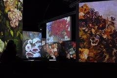 Ван Гог живой Стоковое Фото