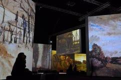 Ван Гог живой Стоковые Фото
