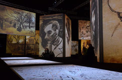 Ван Гог живой Стоковая Фотография